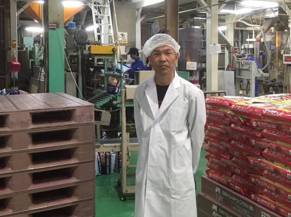 ペットフードの工場見学